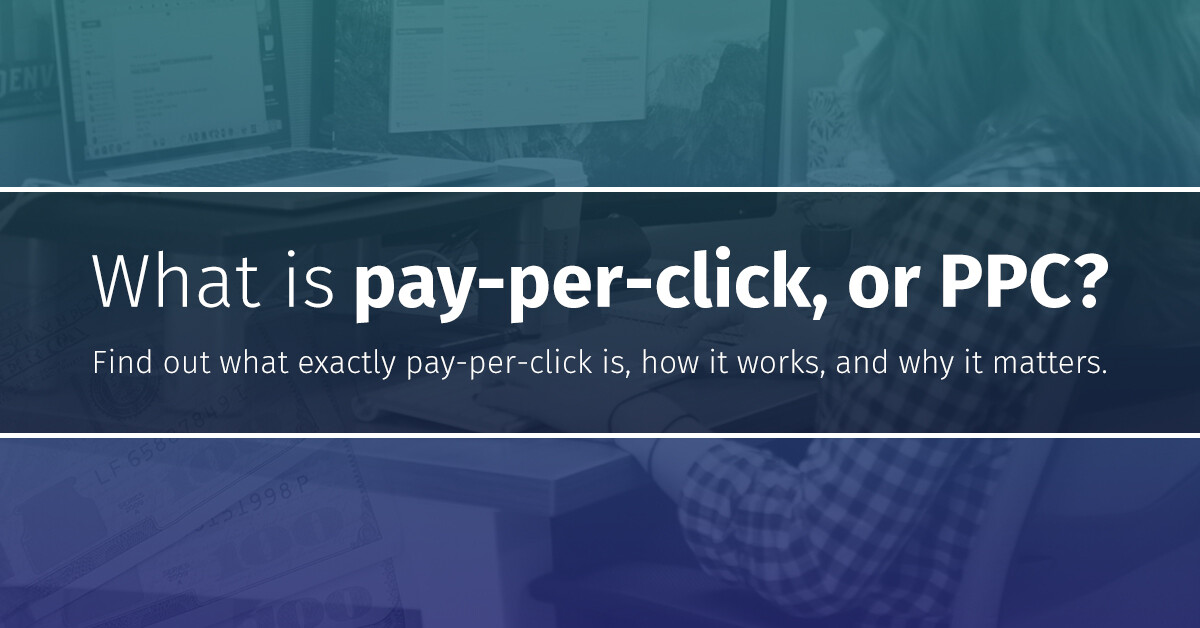 Choozle Blog What is Pay-per-click Featured Image