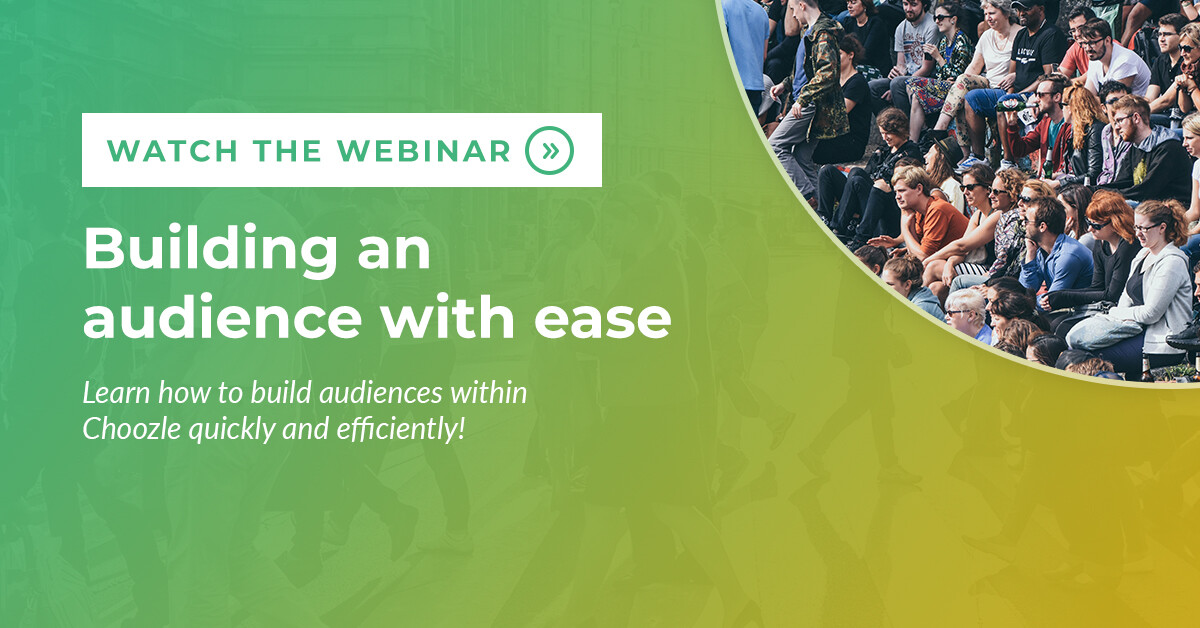 building an audience with ease