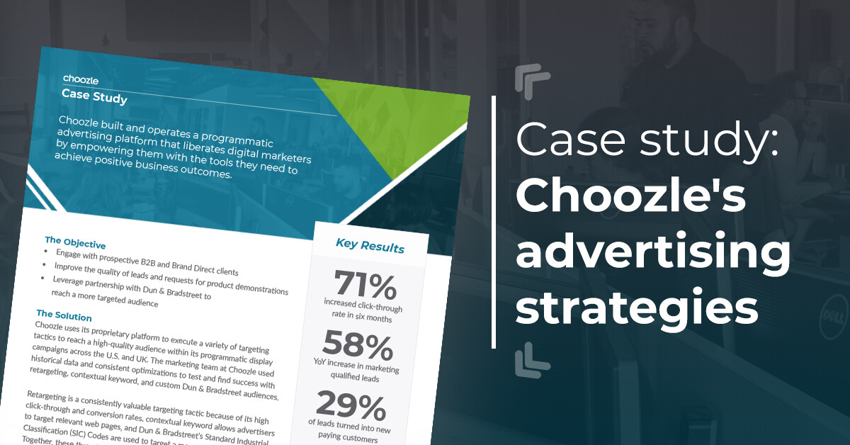 Choozle Case Study Advertising Strategies