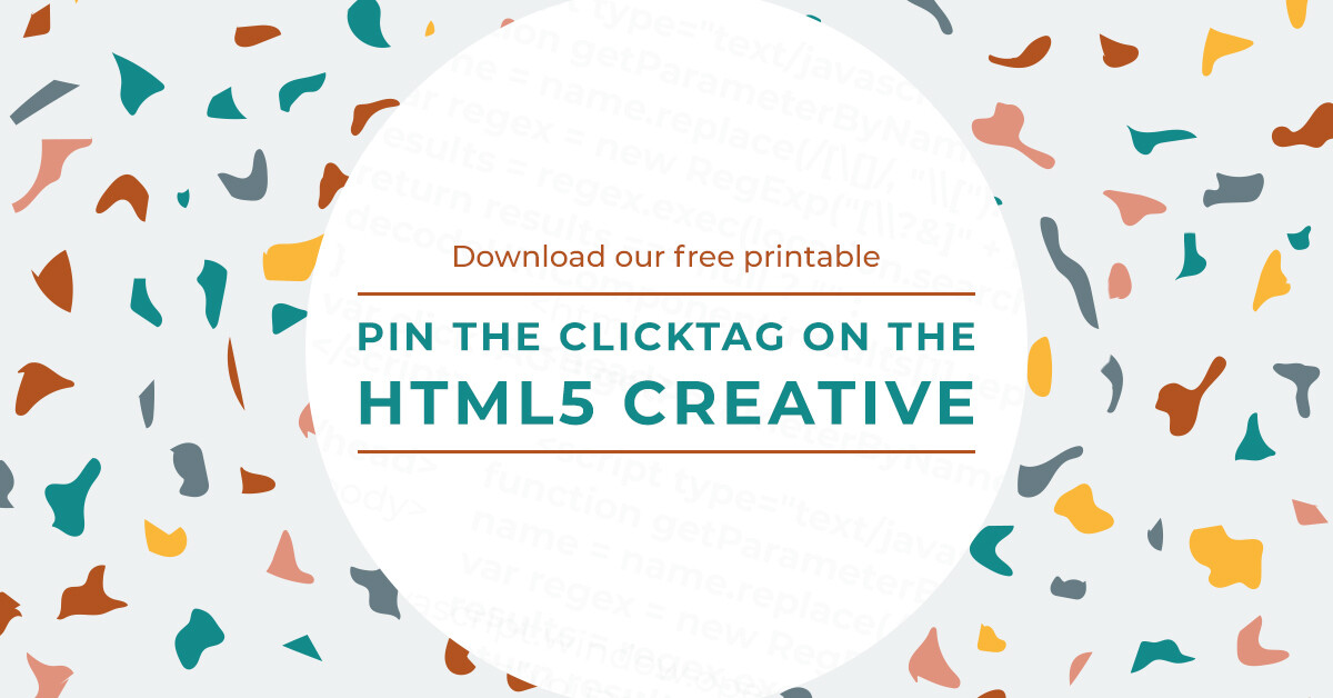 Pin The Clicktag On The HTML5 Creative Printable