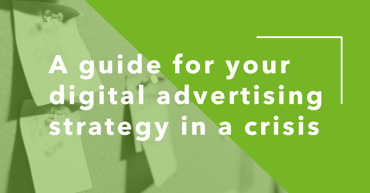 Crisis Digital Marketing Strategy