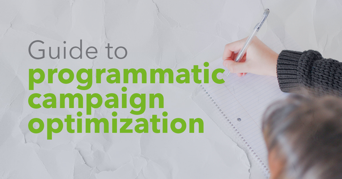 Guide to programmatic campaign optimization