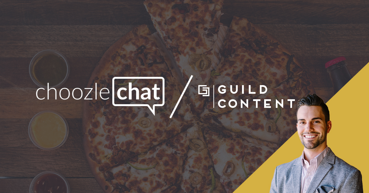 choozlechat: Guild Content shares a piece of the digital advertising pie with Papa John's