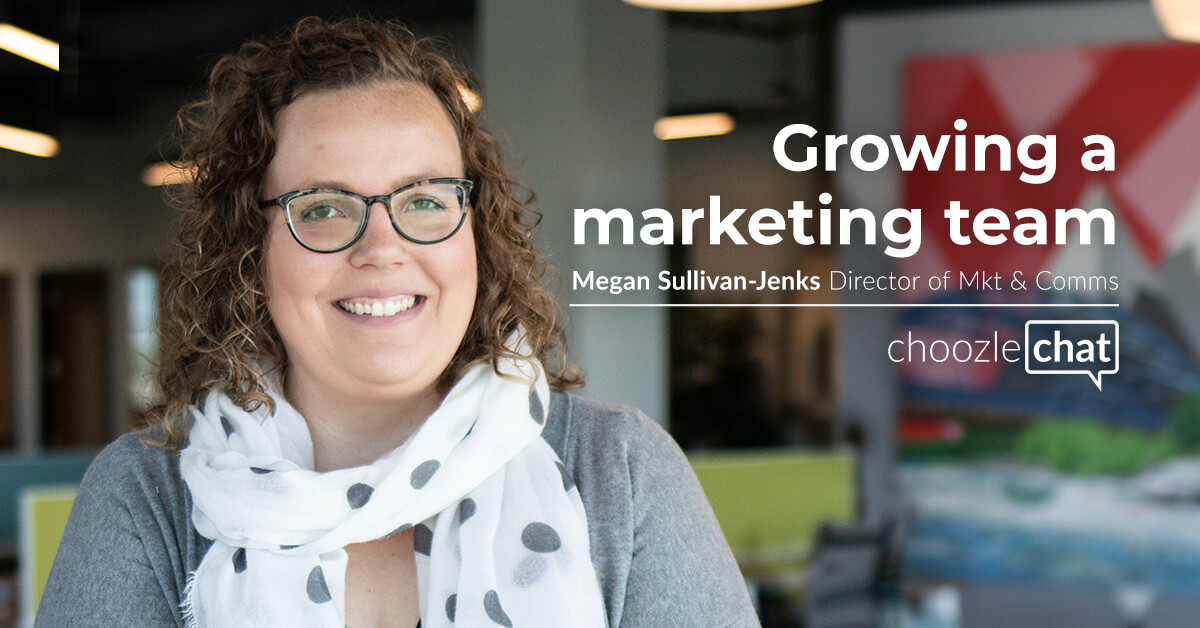 Growing a Marketing Team